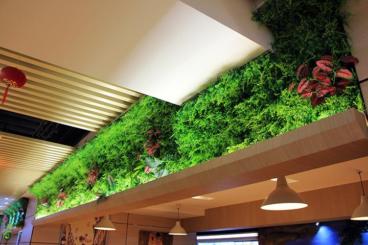 仿真植物墙有甲醛吗